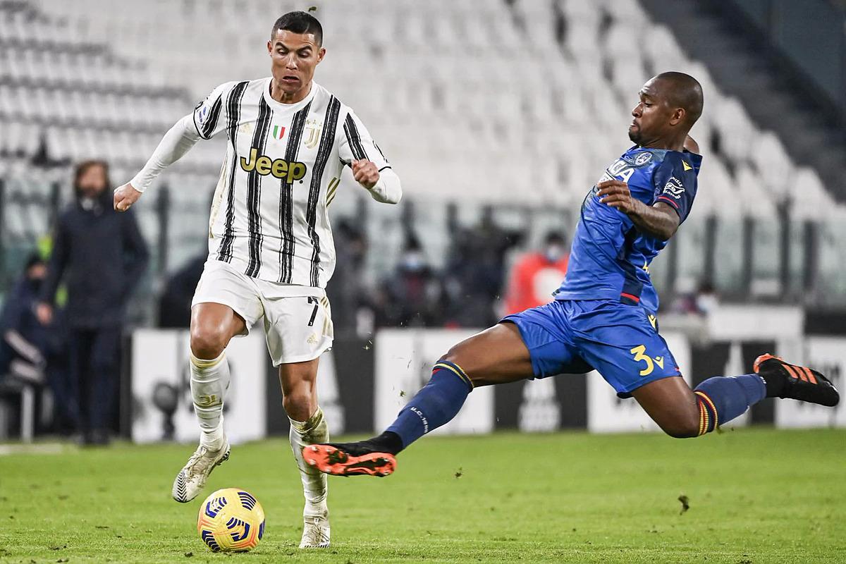 Trận thắng Udinese với chiến thắng của Juventus